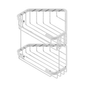 Wire Basket Triangular Soap Basket Double